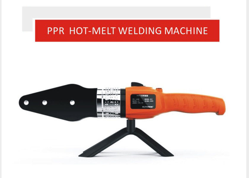 PE PPR Pipe Welding Machine 1000w Double Insulator Electronic Control PPR Machine
